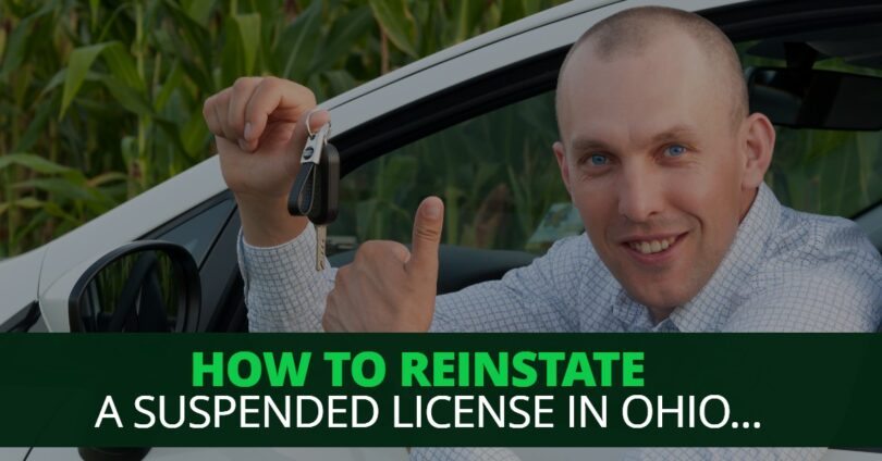 HOW TO REINSTATE A SUSPENDED LICENSE IN OHIO-EdwardLaRue